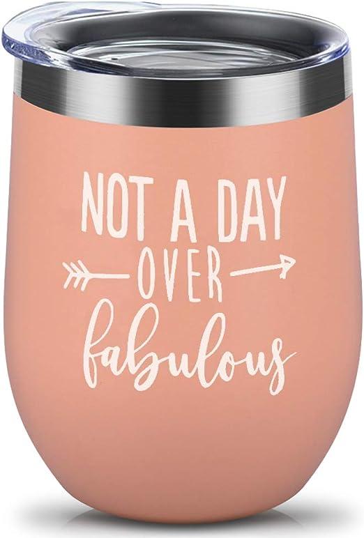 Amazon.com: Vaso de regalo, no es un día sobre fabuloso vaso ...