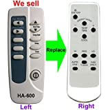 HA-600 Replacement for Frigidaire Air Conditioner Remote Control 309350502 works for FAS185J2A5 FAS186L2A1 FAS225J2A2 FAS225J2A3 FAS255J2A2 FAS255J2A5 FAS295J2A2 FAS295J2A3 FAS295J2A4