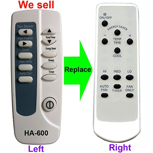 Ha 600 Replacement For Frigidaire Air Conditioner Remote