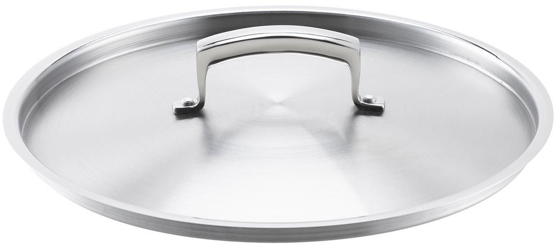 Browne Foodservice (5724122) 9-Inch Stainless Steel Pot and Pan Cover, Silver Browne-Halco 57 24122