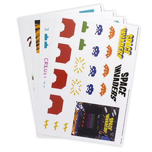 - Paladone Space Invaders Gadget Decals