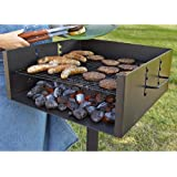 Guide Gear Heavy-Duty Park Style Charcoal Grill
