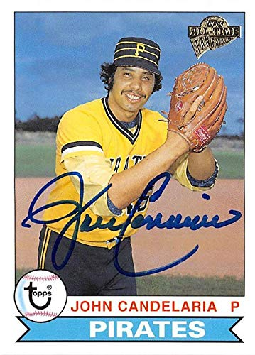 John Candelaria autographed baseball card (Pittsburgh Pirates) 2004 Topps Fan Favorites #6 1979 Style