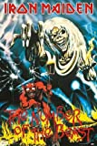 Iron Maiden Number of the Beast Heavy Metal Rock Music Poster 24 x 36 inches