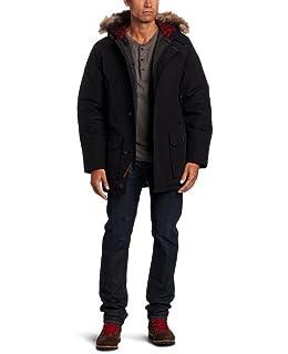 Amazon Com Woolrich Men S Patrol Down Parka Coat Clothing