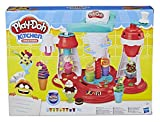 Play-Doh Kitchen Creations Ultimate Swirl Ice Cream Maker Play Food Set with 8 Non-Toxic Colours - Exclusive to Amazon