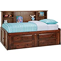 Catalina Chestnut Twin Roomsaver Bed