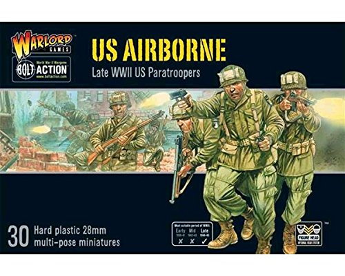Bolt Action US Airborne plastic boxed set