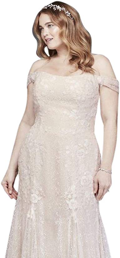 Swag Sleeve Layered Lace Plus Size Wedding Dress Style 8ms251196 Ivory 16w At Amazon Women S Clothing Store,Rainbow Dip Dye Wedding Dress