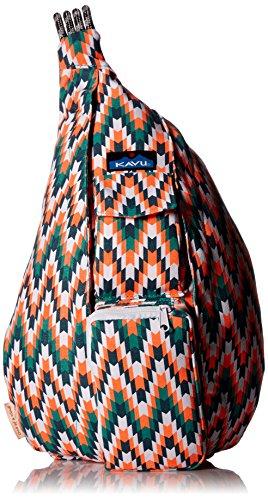 (Kavu Rope Bag, Everglade Tile, One Size)