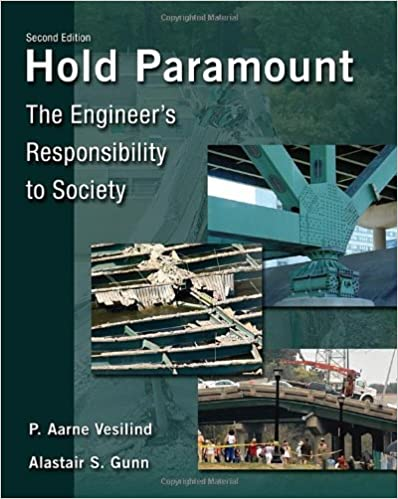 Book Hold Paramount: The Engineer's Responsibility to Society by P. Aarne Vesilind (2010-06-01)