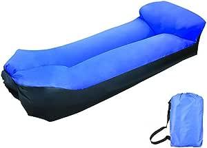 Cadeira inflável YHWLKK, rede de sofá de ar com apoio de