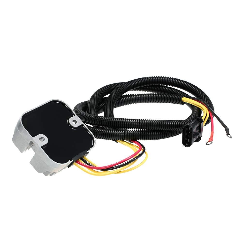 Voupuoda Regulador del rectificador para Polaris Sportsman 4014543 4015214 4015230 4014405