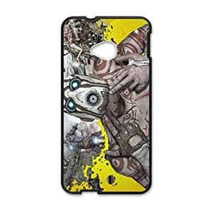 Strange robot Cell Phone Case for HTC One M7