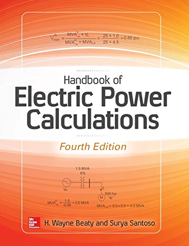 Handbook of Electric Power Calculations, Fourth Edition (Electronics)
