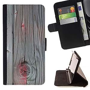 Accent pintura gris madera agrietada- Modelo colorido cuero de la carpeta del tirón del caso cubierta piel Holster Funda protecció Para Apple iPhone 5 / iPhone 5S