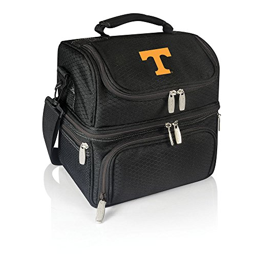 PICNIC TIME NCAA Tennessee Volunteers Pranzo Insulated Lunch Tote, Black -