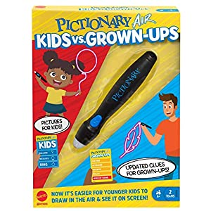 Mattel Games Pictionary Air Kids vs Grown-Ups