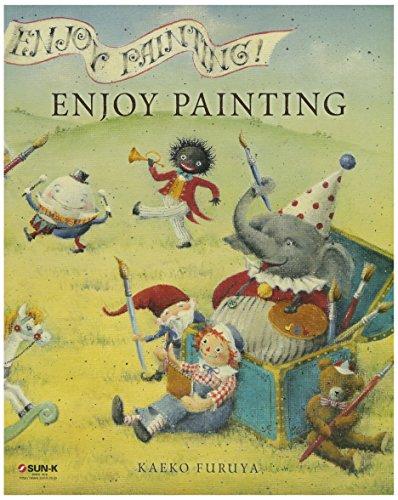 449-0254 古屋 加江子「ENJOY PAINTING」トールペイント デザイン本