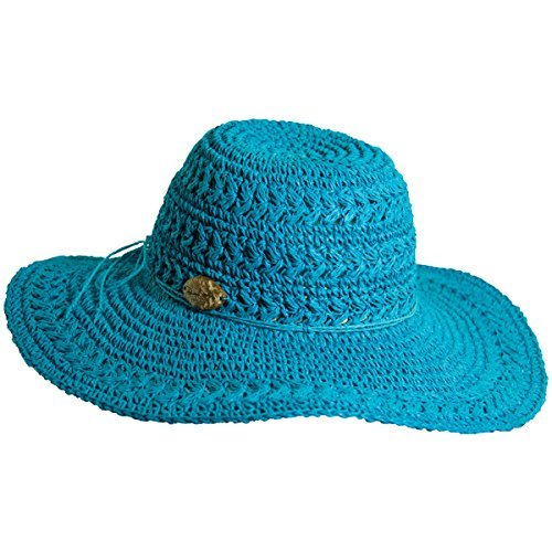 610c9594721 Amazon.com  Panama Jack Women s Crocheted Toyo Sun Hat with Sizing ...
