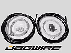 JAGWIRE ROAD Shop Kit - Complete Brake & Shifter/Derailleur Cable and Housing Kit - Black : The same professional and high quality JAGWIRE Kits we use on all bikes in our own shop everyday! : Everything you need for a professional do it y...