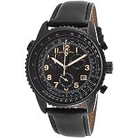 Swiss Legend Men's 30721-BB-01-RA Skyline Analog Display Black Leather Swiss Quartz Watch