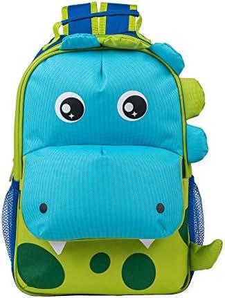 Dimensional Animal Shape Water Resistant Preschool Toddler Backpack