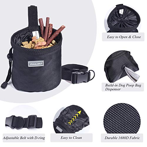 51xOuLE8lwL. SS500  - Dog Treat Bag Hands-Free Puppy Training Pouch