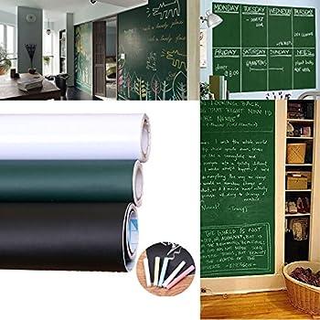 Amazon.com: Grande pizarrón de papel de contacto papel de ...