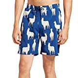Banana Boat Men's Swim Trunks Surf Beachwear Lined Elastic Waist Boardshorts UPF 50+ Navy Large