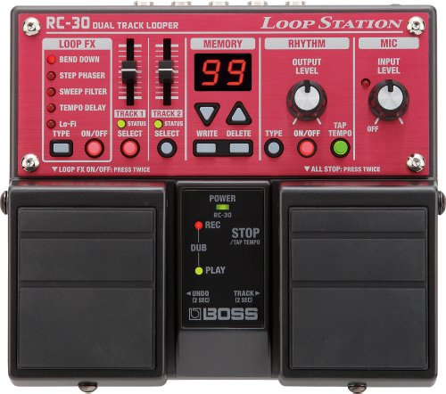 BOSS RC-30 Phrase Looper Pedal by BOSS