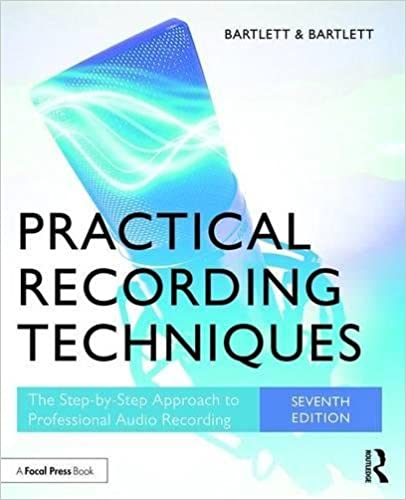 Practical recording techniques the step by step approach to practical recording techniques the step by step approach to professional audio recording 7th edition fandeluxe Images