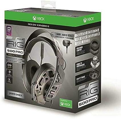 Plantronics Rig 500 Hx Pro Dolby Atmos Headset Binaural Elektronik