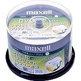 日立マクセル 録画用DVD-R 標準120分 1-16倍速 CPRM対応 プリンタブルホワイト 50枚スピンドル DRD120CPW50SP
