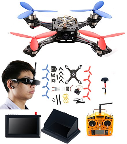 AICase-Cheerson-TINY-117-Mini-Real-time-FPV-DIY-HD-Video-Camera-Racing-Quadcopter-Drone-Kit-with-VR-Glasses-LCD-Monitor-Kickstand-Antenna-Remote-Controller
