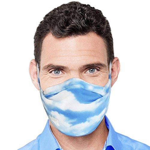 - MyAir Comfort Mask, Starter Kit in Blue Skies - Made in USA.