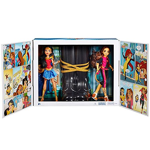 2017 SDCC Exclusive DC Super Hero Girls Wonder Woman & Cheetah Dolls (Wonder Woman Cheetah)