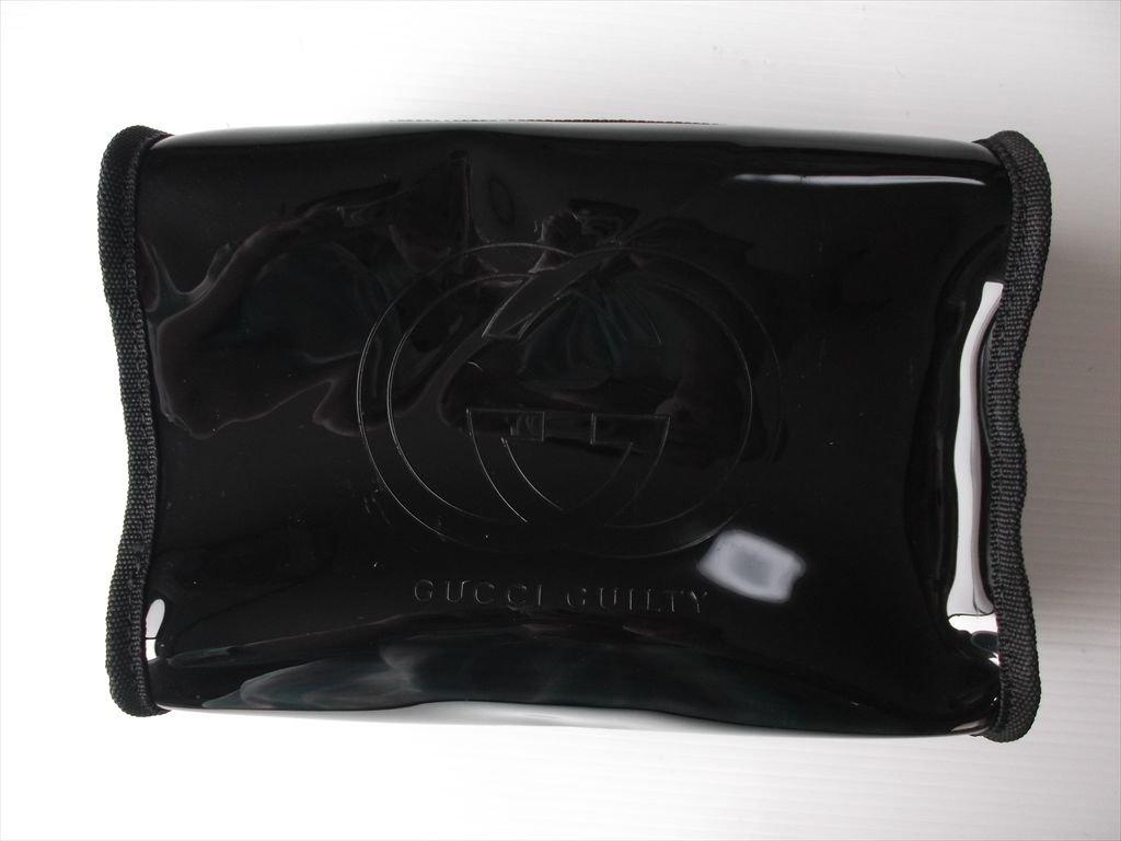 グッチ GUCCI ギルティ 化粧ポーチ コスメポーチ 黒 ノベルティ  並行輸入品 B00L5EZM3A