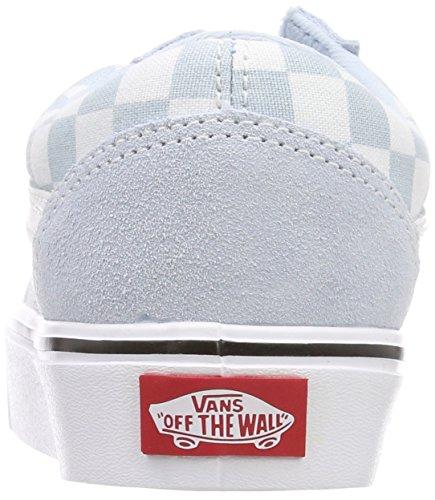 tela adulti scamosciata Sneakers Lite Blu Skool Vans miste Old per nCqHH6Aw