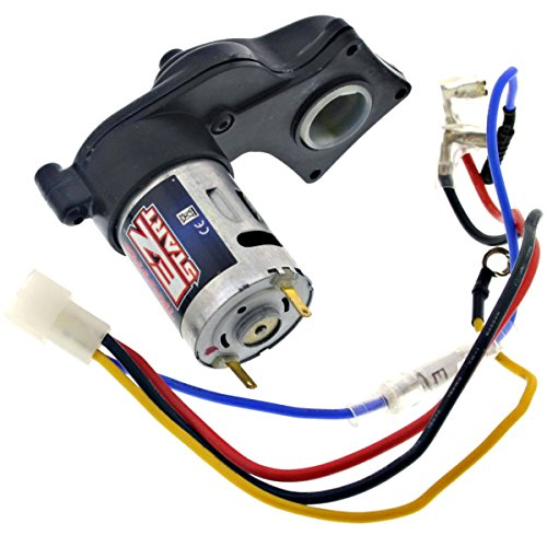 Traxxas 1/10 Nitro Slash 3.3 EZ Start Motor, Gears, CUSH Drives & Wire Harness