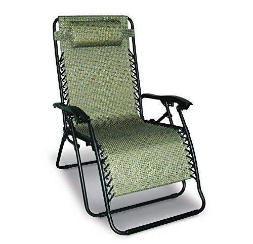 Caravan Sports 80009500160 Infinity Gravity, Beige Oversize Chair, Pattern