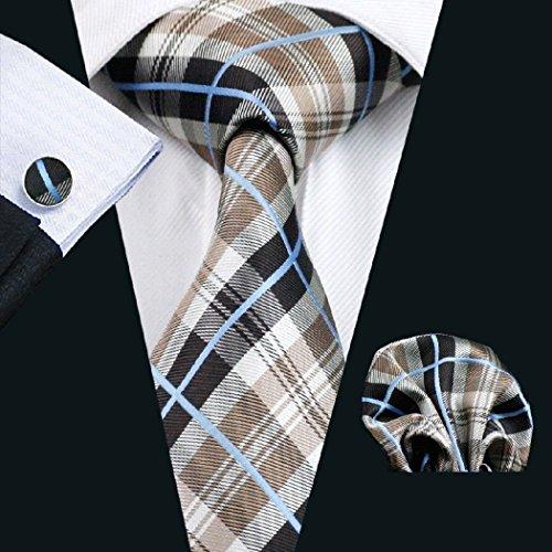 burberry ties for men brown - 2