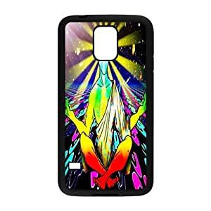 Cool Colorful Trippy Durable TPU Custom Snap On Case For Samsung Galaxy S5 i9600