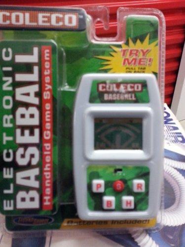 ELECTRONIC BASEBALL Handheld Game System 2005 TechnoSource b