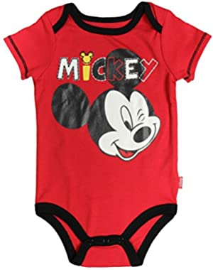 Mickey Mouse Baby Boys' Bodysuit