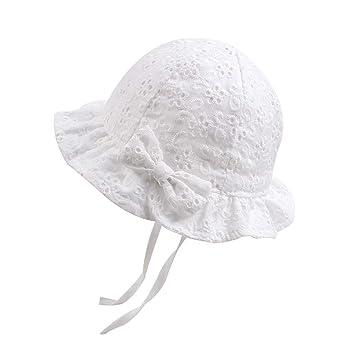7a218f29e7831 Amazon   NEWAMSTAR ベビー用帽子・キャップ・ハット 赤ちゃんバケット ...
