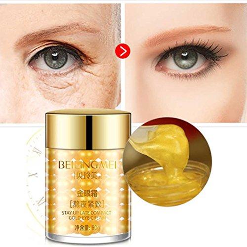 Gold Eye Cream Artifact Dark Circles Eye Bags Loose Skin Fat Particles Moisturizing Eye (Moisturizing Pearl)
