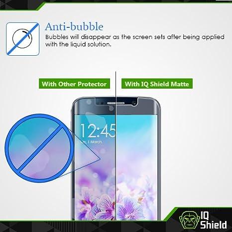 Full Coverage Anti-Glare Screen Protector and Anti-Bubble Film IQ Shield Matte Full Body Skin Compatible with Garmin Vivosport