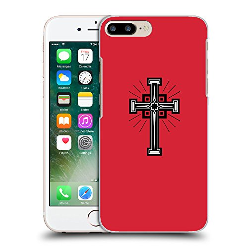 GoGoMobile Coque de Protection TPU Silicone Case pour // Q07990601 Christian Cross 24 Alizarine // Apple iPhone 7 PLUS