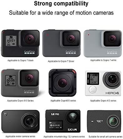 CAOMING Tripod Bracket for GoPro//Xiaoyi//SJ//Mijia and Other Sport Cameras and 4-6.8 inch Phones Durable